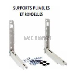SUPPORT PRE-MONTE MURAL PLIABLE 550MM 200KG