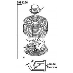 FIX VENTILATEUR D9D/R STD 2987525
