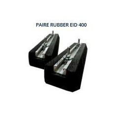 PAIRE DE SUPPORT DE SOL MINI RUBBER EID 400MM 300KG