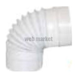 ATLANTIC COUDE ANGLE VARIABLE CIRCULAIRE PVC D100 - CAVC 100
