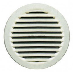 GRILLE RONDE FIXE DIA 100MM