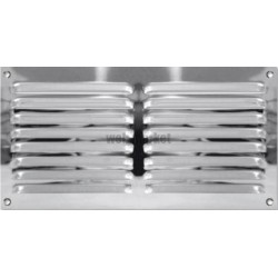 GRILLE INOX 200X200 MM S/M