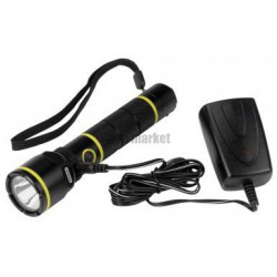 LAMPE TORCHE ALU RECHARGEABLE