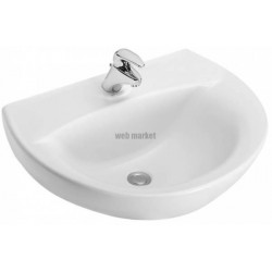 LAVABO PATIO 55X45CM BLANC JD E4158-X5-00