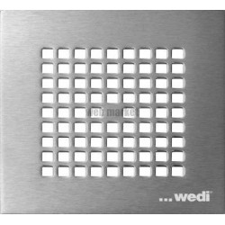 GRILLE INOX PLANO 132X132MM