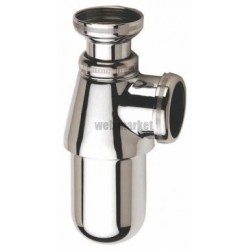 SIPHON EVIER CHROME 1054