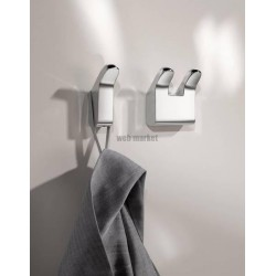 PORTE-GANT DOUBLE MOLL 6,2X6,5 CHROME 12713010000