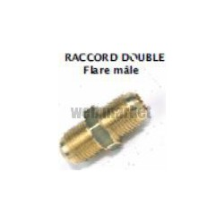 DOUBLE FLARE MALE A VISSER 7/8 SAE