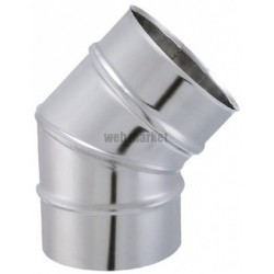 COUDE SECT. 45D INOX 304 153